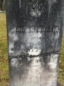 Mary S <i>Durgin</i> Buswell