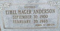 Mary Ethel <i>Hager</i> Anderson