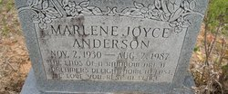 Marlene Joyce Anderson
