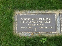 Robert Milton Boase