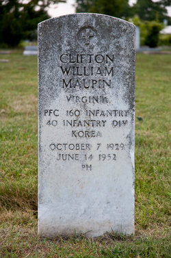 Clifton W Maupin