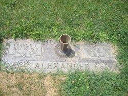 Francis G Alexander