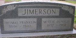 Mollie <i>Dunklin</i> Jimerson
