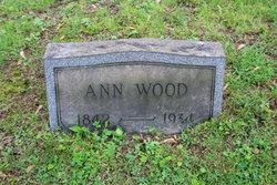 Ann <i>Taylor</i> Wood