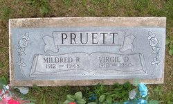 Mildred Rebecca <i>Hathaway</i> Pruett