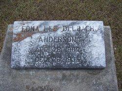 Edna Lee <i>DeLoach</i> Anderson