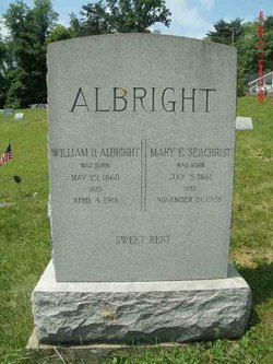 Mary E. <i>Seachrist</i> Albright