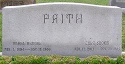 Eula Sharon <i>Shown</i> Faith
