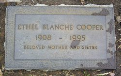 Ethel Blanche <i>Alcorn</i> Cooper
