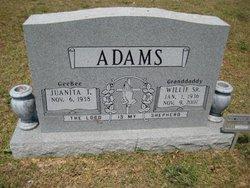 Willie Adams, Sr