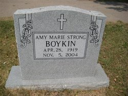 Amy Marie <i>Strong</i> Boykin