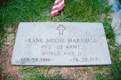 Frank McCue Marshall