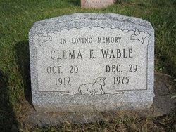 Clema E. Wable