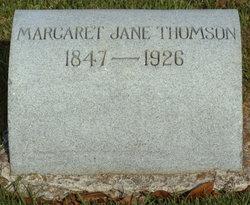 Margaret Jane Thomson
