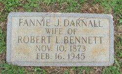Fannie J. <i>Darnall</i> Bennett