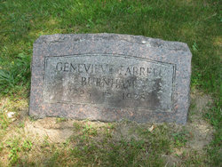 Genevieve Catherine <i>Farrell</i> Burnham