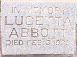 Lucetta <i>Steele</i> Abbott