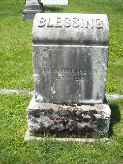 Jane <i>Gardner</i> Blessing