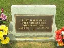 Lilly Marie <i>Oliver</i> Gray