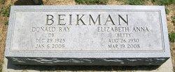 Elizabeth Anna Betty Beikman