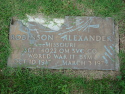 Robinson Alexander
