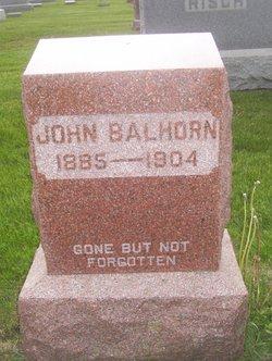John Balhorn