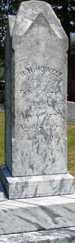 Baldwin H Howell