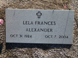 Lela Frances Alexander