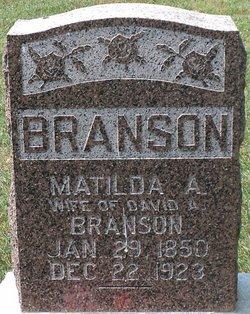 Matilda A. <i>Phelps</i> Branson