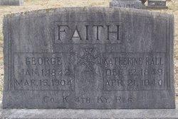 Katherine Phillipina Kate <i>Weibel</i> Faith