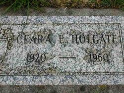 Clara E <i>Hanson</i> Holgate