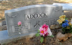 Doris Faye <i>West</i> Adcock