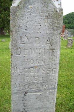Lydia <i>Clark</i> DeWitt