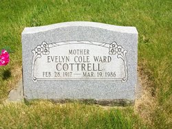 Evelyn <i>Cole</i> Ward Cottrell