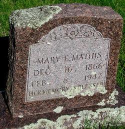 Mary E. <i>Mongomey</i> Mathis