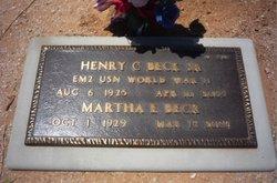 Henry Cabot Beck, Sr