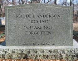 Maude Lena <i>White</i> Anderson