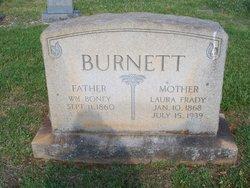 Laura <i>Frady</i> Burnett