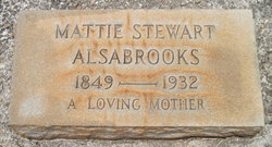 Martha Ann Elizabeth <i>Bishop</i> Alsabrooks