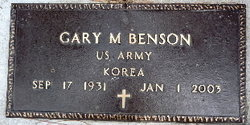 Gary Martin Benson