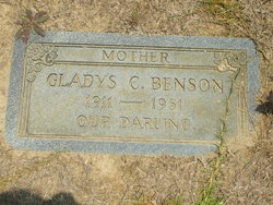 Gladys Thelma <i>Carr</i> Benson