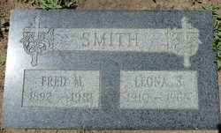 Fred Melvin bud Smith