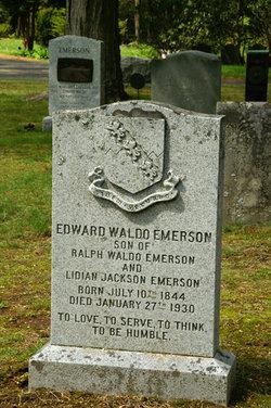 Dr Edward Waldo Emerson