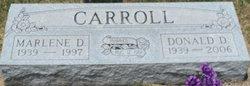 Marlene D. <i>Campbell</i> Carroll