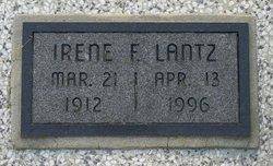 Irene F <i>Harlan</i> Lantz