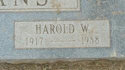 Harold William Evans
