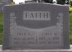 Frederic Ernest Fred Faith