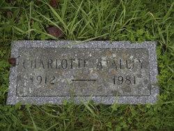 Charlotte Ann Lottie <i>Alley</i> Alley