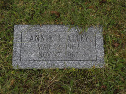 Annie L <i>Hoffses</i> Alley
