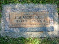 Lila <i>Angus</i> Allen